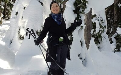 Snowshoeing and Skiing in the Peachland Area